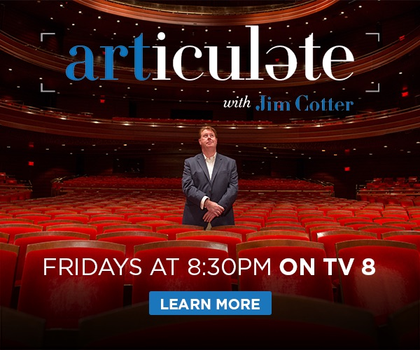 Articulate with Jim Cotter, Fridays at 8:30pm on TV 8