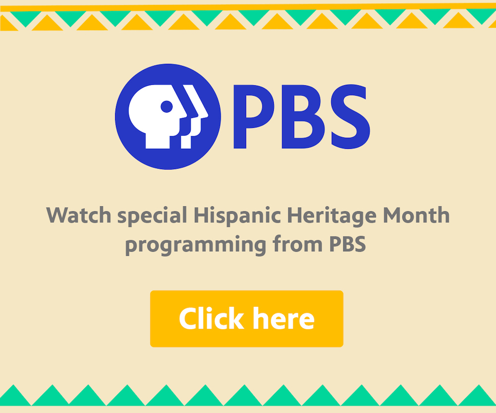 Watch special Hispanic Heritage Month programming on PBS