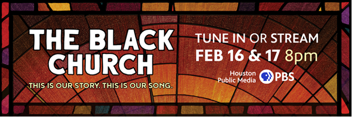 The Black Church: This Is Our Story, This Is Our Song. Tune in or stream February 16 & 17 at 8pm on TV 8