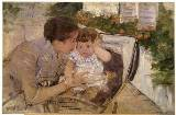 Susan Comforting the Baby, Mary Cassatt c. 1881