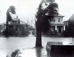 1943 Hurricane in Galveston