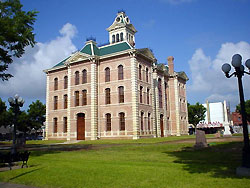 Wharton Courthouse after restoration