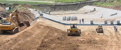 widening of Sims Bayou with U.S. Army Corps of Engineers