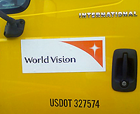 image of world vision truck