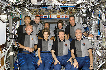 image of Columbia sts-114 crew