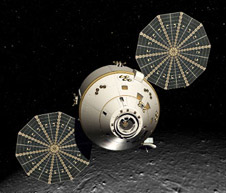 image of orion module