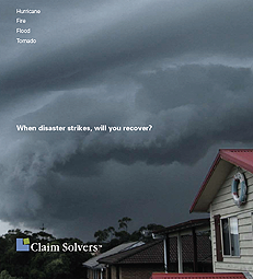 image of claim solvers ad