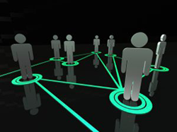 image of social networking