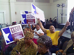 image of Peter Brown supporters