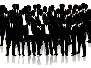 image of business people