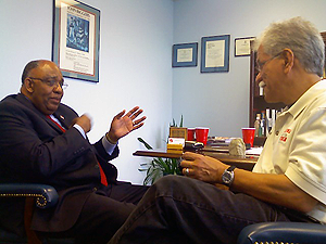 image of Swisher is CEO of Career and Recovery Resources and Pat Hernandez