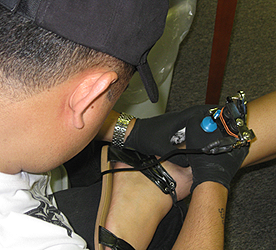 image of a tatooing