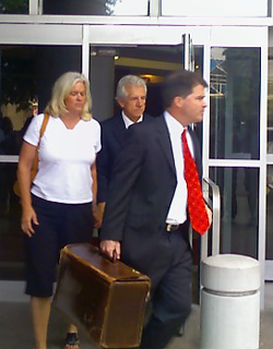 image of James Davis and attorney