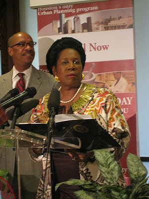 Congresswoman Sheila Jackson Lee