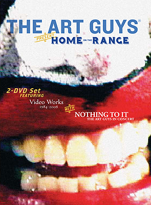 The Art Guys Home on the Range DVD cover