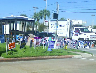 campaign 09 signs