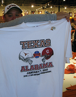 Texas VS Alabama tshirt