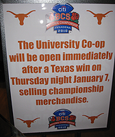 UT co-op sign
