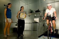 Test Subjects in the Environmental Chamber