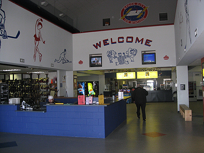 Space City Ice Station rink
