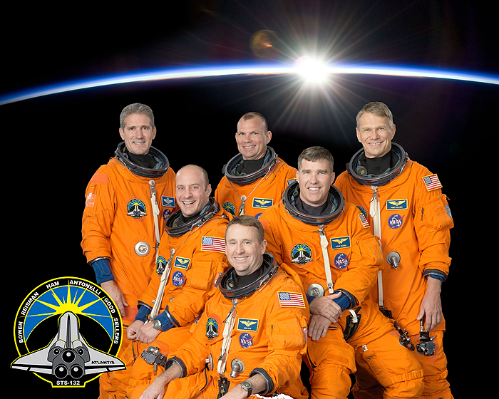 STS-132 Official Crew Photo