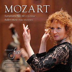 Mozart by Apollo's Fire