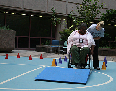 wheelchair approaches to ramps