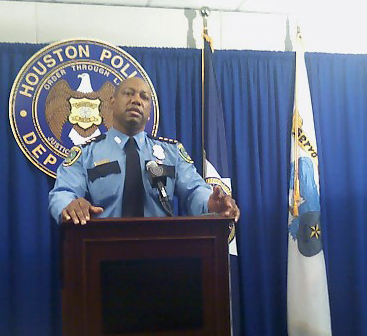Houston Police Chief Charles McClellan