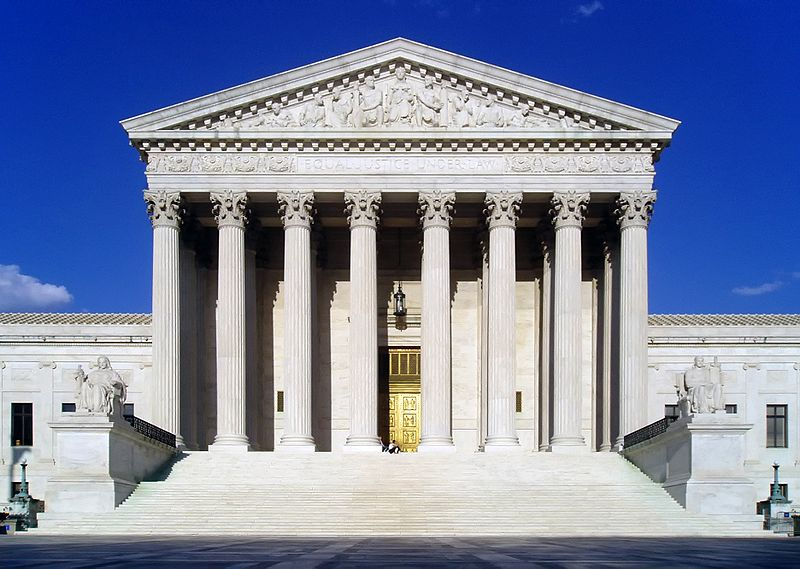 US Supreme Court West Facade