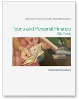 2011 Teens and Personal Finance Poll