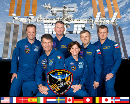 ISS Expedition 27 crew