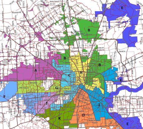 Minorities Weigh in on New Council District Map Houston Public Media