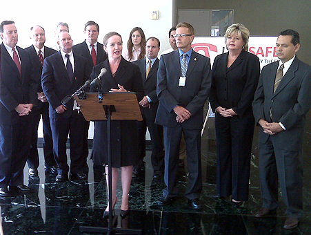 Identity theft press conference