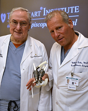 Frazier and Cohn from Texas Heart Institute