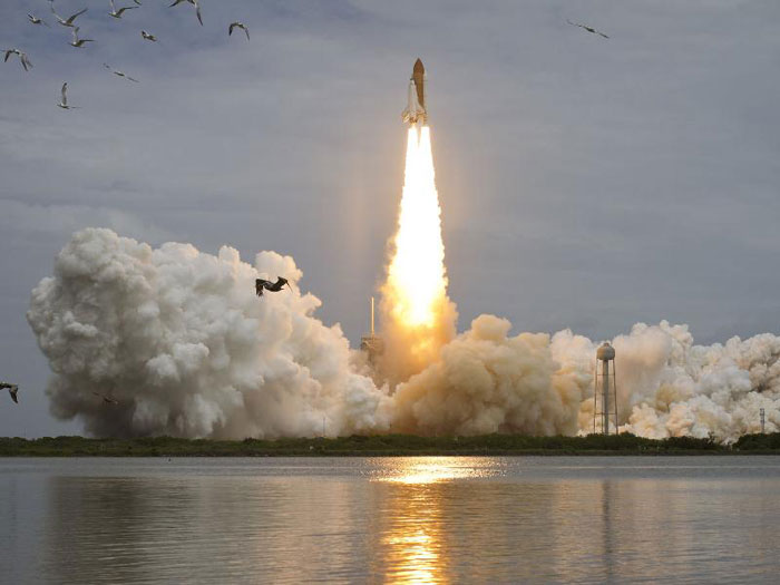 launch of Atlantis