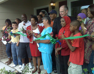 Congresswoman Sheila Jackson Lee and Houston Habitat