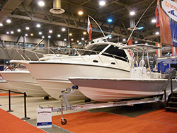 Boats at the Houston Boat Show