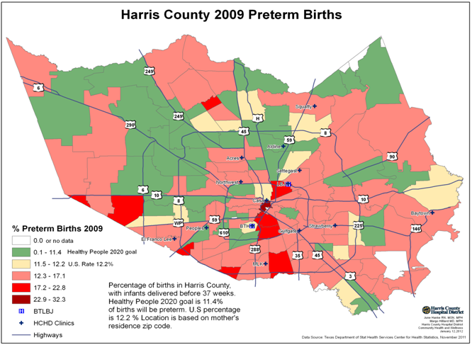 Houston Hospitals Will Try To Lower 136 Premature Birth Rate