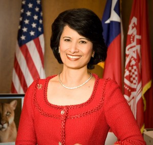 UH President and System Chancellor Renu Khator