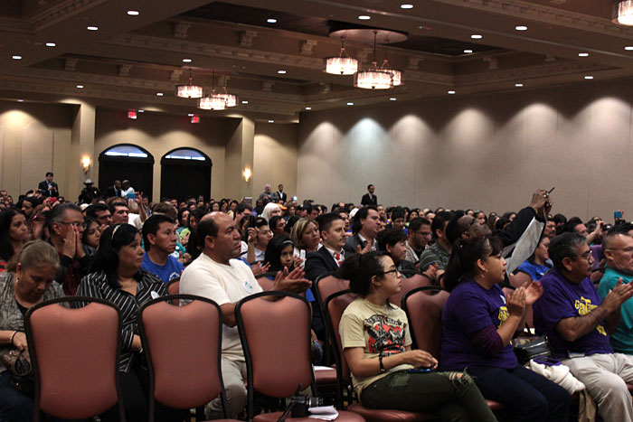 audience in the immigration reform discussion