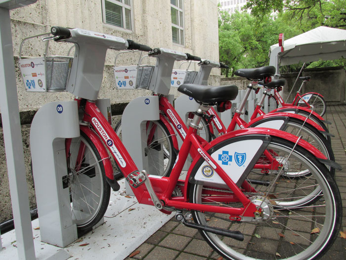 Why More Bicycle Rental Stations Could Improve Houston S Bike
