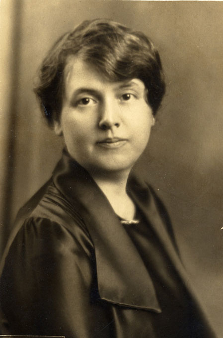portrait of Minnie Fisher Cunningham