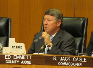 Harris County Judge Ed Emmett