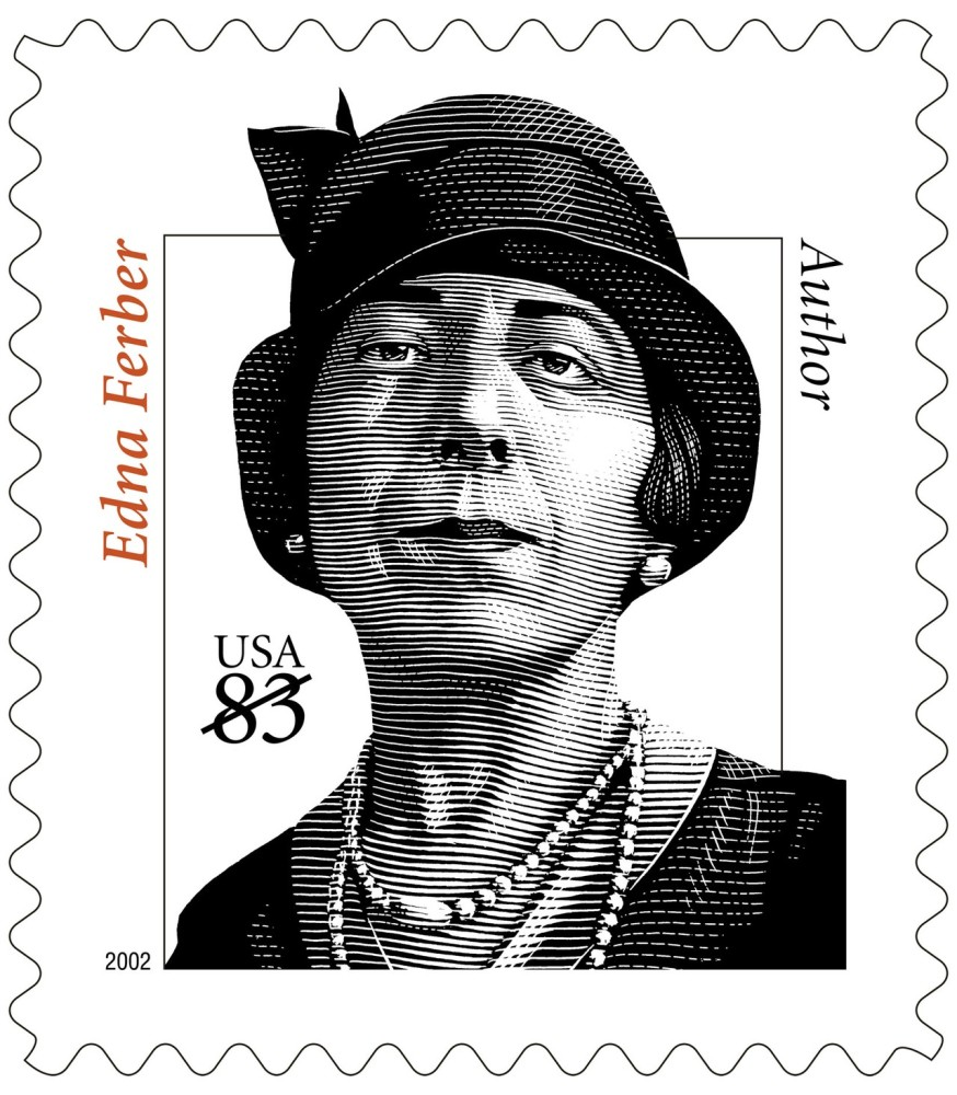 copy of USPS Stamp of Edna Ferber