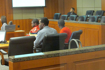 Two alleged gang members contest petition