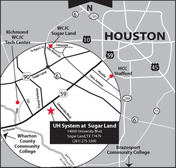 UH_Sugar_Land_-map Uh Clear Lake Campus Map on texas woman's university campus map, temple college campus map, uhv campus map, u of houston main campus map, south plains college campus map, west texas a&m university campus map, st. edwards campus map, pearland high school campus map, alvin high school campus map, university of georgia campus map, jsc campus map, texas wesleyan campus map, paul quinn campus map, tamu kingsville campus map, tamu commerce campus map, miami campus map, texarkana college campus map, texas college campus map, lamar university campus map, university of hawaii manoa campus map,
