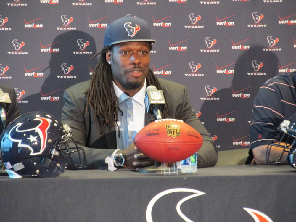 Clowney said he considers playing for the Texans 'a great adventure'