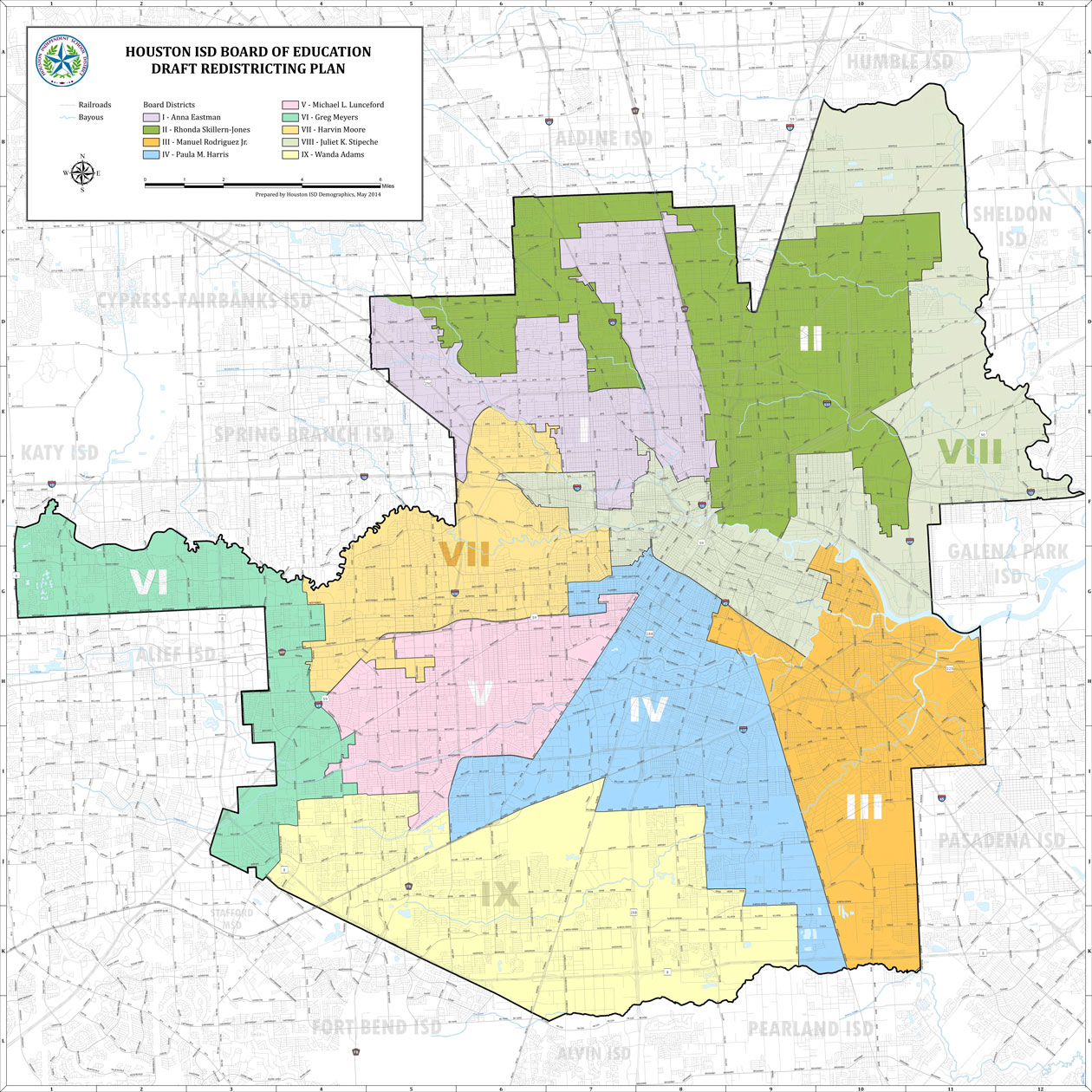 Houston School District Map Houston School District Redrawing Voting Map – Houston Public Media Houston School District Map