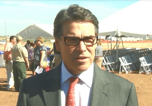 Perry in Midland