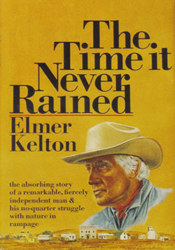 book cover for The Time it Never Rained